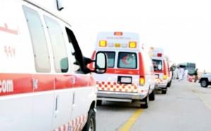 مصرع وإصابة 11 إثرحادث تصادم مرّوع بالأمواه