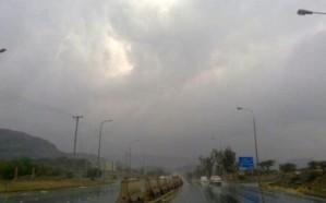 """""""الأرصاد"""" تنبه من أمطار غزيرة على الطائف وميسان"""