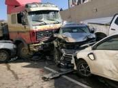 إصابة 4 إثر حادث تصادم  في الطائف