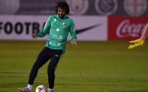 """المنتخب السعودي يكشف طبيعة إصابة """"الشهراني"""" بعد استبداله خلال ودية كوريا"""
