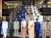 ولي العهد يستقبل قادة الكليات العسكرية بوزارة الدفاع
