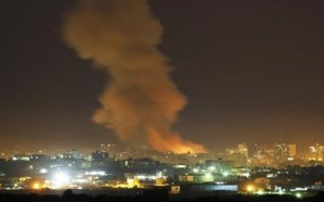 طيران الاحتلال الإسرائيلي يشنّ ثلاث غارات على قطاع غزة فجرًا