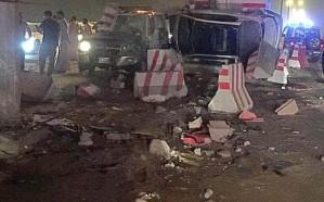 حالة وفاة و9 إصابات إثر اصطدام سيارة بنقطة تفتيش في القنفذة