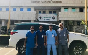 8232 زيارة لفريق الطب المنزلي في مستشفى صامطة العام