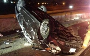 انقلاب سيارة تقودها فتاة عمرها 15 عاماً بالباحة يؤدي لإصابتها وصديقتها