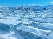 البرد القارس يقتل 15 طفلاً في سوريا