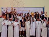 جامعة الإمام عبدالرحمن تتوَّج بكأس بطولة الكرة الطائرة