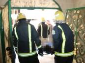 إصابة مواطن بحروق متفرقة في مكة إثر حريق