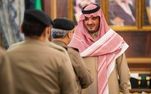 وزير الداخلية يستقبل مدير الأمن العام