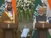 ولي العهد: 100 مليار دولار استثمارات متوقعة خلال عامين مع الهند