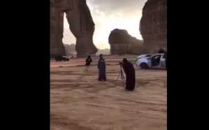 النائب العام يصدر توجيهات بالقبض على شبان ضايقوا السيّاح في العلا