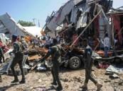 انفجار قوي في سوق مكتظة في العاصمة الصومالية مقديشو