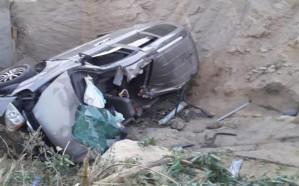 إصابة 3 سيدات إثر انقلاب مركبة تقودها إحداهن في بلجرشي