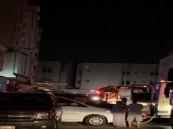 بالصور..  إصابة 19 شخص إثر حريق ضخم بشقة سكنية في جدة