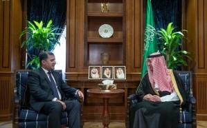 الجبير يستقبل سفيري طاجكستان والسودان