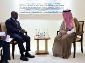 """""""الجبير"""" يبحث أبرز المستجدات مع وزيري خارجية المالديف وساحل العاج"""