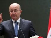الرئيس العراقي يدعو لموقف عربي مشترك ضد الإرهاب