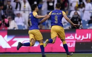 النصر يواصل ملاحقة الهلال بفوزه على الشباب