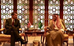 الجبير يلتقي وزير الخارجية البريطاني