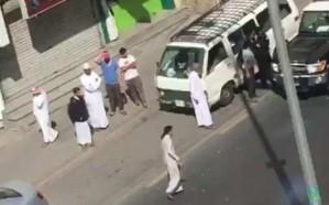 شاهد.. القبض على قائد مركبة دهس أحدَ المشاةِ في مكة