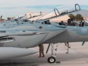 اكتمال وصول مجموعة القوات الجوية المشاركة في تمرين (العلم الأحمر – 2019)