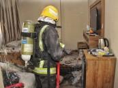 مدني مكة يخلي 700 معتمر من فندق اندلع فيه حريق