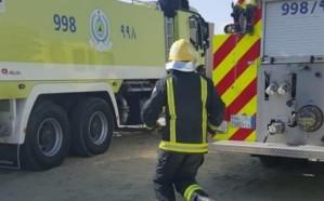 حريق شقة سكنية ينهي حياة طفلين في رجال ألمع