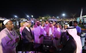 أمانة الطائف تسجل رقماً قياسياً لزوار مهرجان الورد بمنتزه الردف