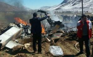 تحطم مروحية عسكرية تابعة للحرس الثوري في إيران