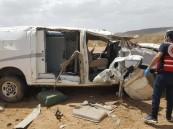 مصـرع 3 شبان إثر سقوط مركبة نقل أموال في منحدر بطريق المطار في الباحة