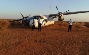 هبوط اضطراري لطائرة في صحراء بالسودان لهذا السبب