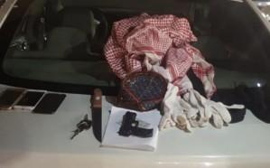 سقوط 3 مواطنين امتهنوا السطو المسلح على المحلات في مكة