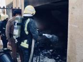 عبث الأطفال يشعل حريق في عمارة سكنية بتبوك