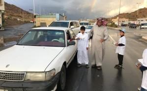 نادي حي ميسان يقدم وجبات إفطار للمقيمين وزوار المحافظة