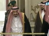 فيديو.. خادم الحرمين يصل قصر الصفا في مكة