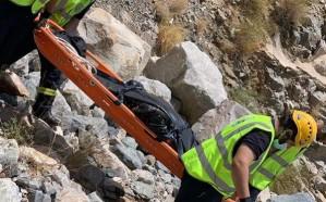شاهد.. العثور على جثـة مقيم سوداني في منحدر بجبال الهدا