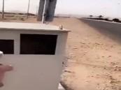 """مجهول يطلق النار على كاميرا """" ساهر """" في الطائف"""