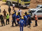 مدني تبوك يكشف تفاصيل إنقاذ 10 أشخاص احتجزوا في انهيار سقف نفق