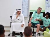 منصور بن مشعل للاعبي الأهلي: لن أقبل منكم التراخي