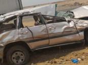 9 إصابات في حادث انقلاب سيارة بجدة