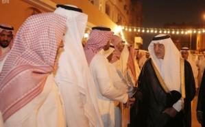 """أمير مكة يعزي ذوي الفقيد """"الثقفي"""""""
