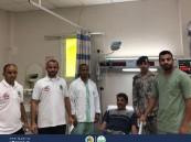 حرس الحدود: إنقاذ مقيم تركي من الغرق في عسير