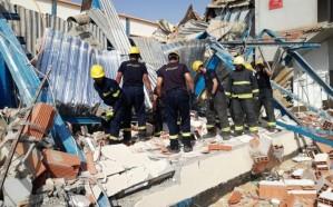 وفاة عاملين في انهيار مبنى تحت الإنشاء بـينبع