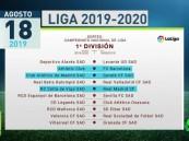 إعلان جدول مباريات الدوري الإسباني وموعد الكلاسيكو