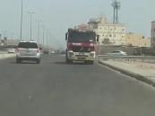 شاهد.. ضبط قائد شاحنة لقيادته بعكس اتجاه السير في جدة