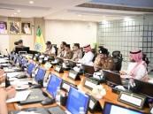 الدفاع المدني يبحث خطة مواجهة حوادث المواد الخطرة خلال موسم الحج