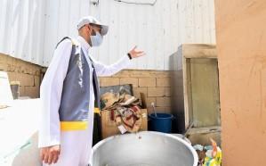 الغذاء والدواء تُغلق 10 منشآت غذائية وتُتلف 28 طناً من المواد الغذائية بمكة