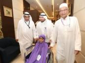 حاجة تايلندية تبلغ من العمر 103 أعوام تقهر الظروف وتحقق حلم السنين بأداء فريضة الحج