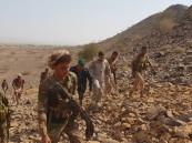 """الجيش اليمني يحرر سلسلة جبال """"مبعوثة"""" الإستراتيجية"""