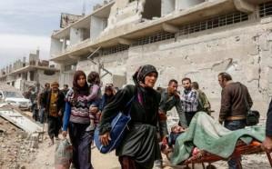 سوريا : فتح معبر لخروج المدنيين من منطقة التصعيد في إدلب